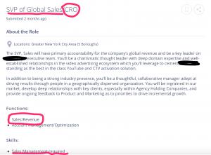 CRO job description red flags